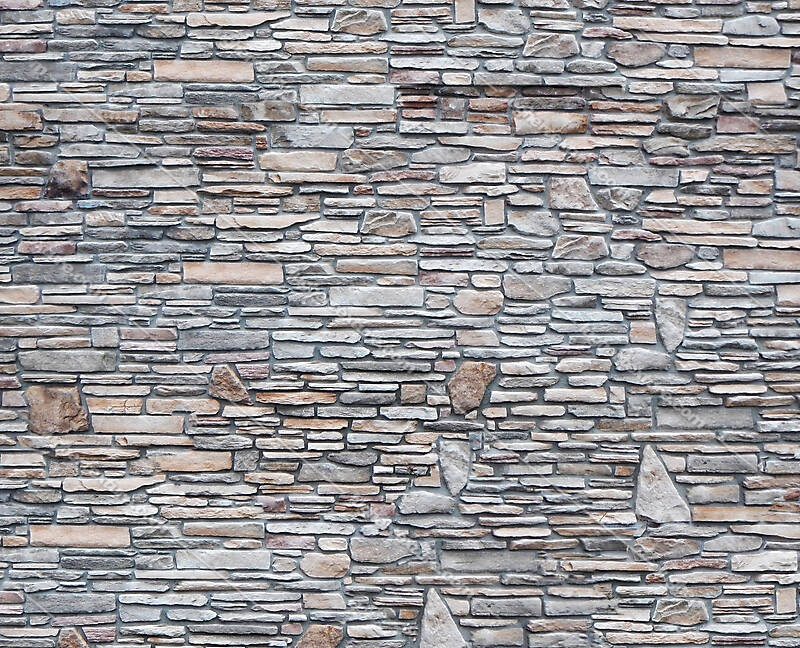 stone bricks mixed