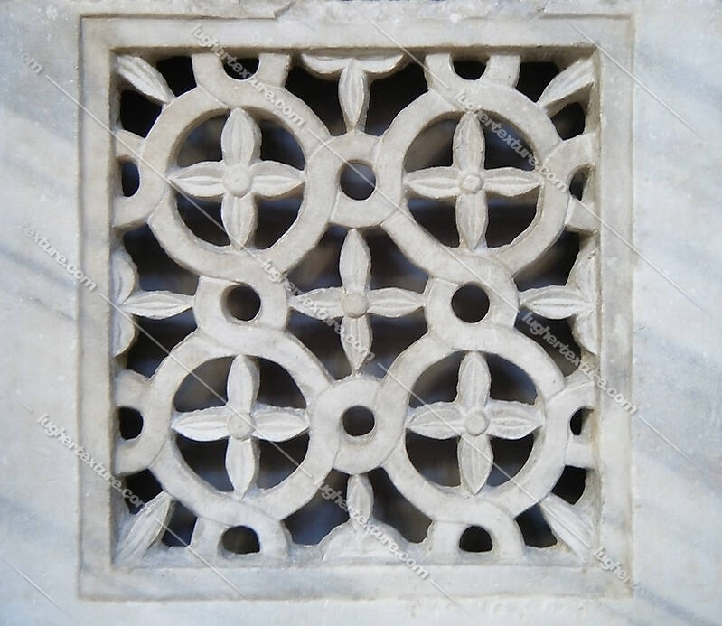 stone window flowers