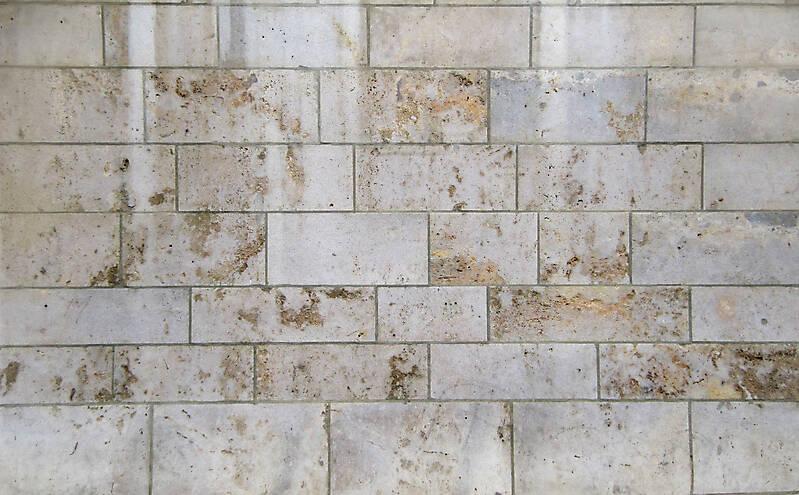 Texture White And Orange Stone Tile Modern Tiles
