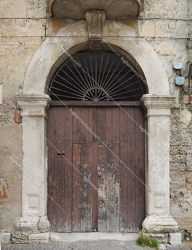 old portal ancient from italy 7
