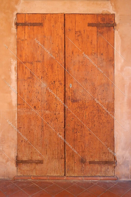 old scraped wood door 8
