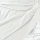 bed sheet white