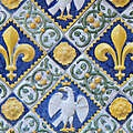 eagle and emblems<br />tiles