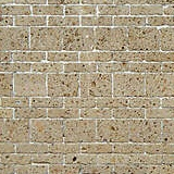 brown tufe bricks tile